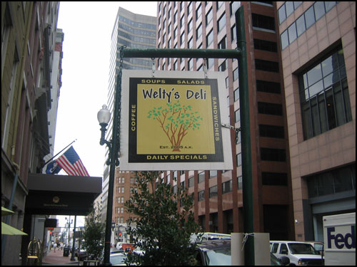 Images of Welty's Deli in New Orleans